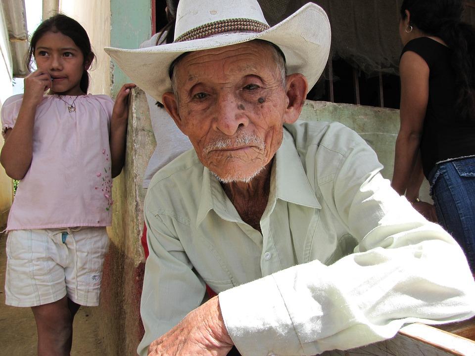 Latin, Cowboy, Spanish, Honduras, Old Man, Elderly