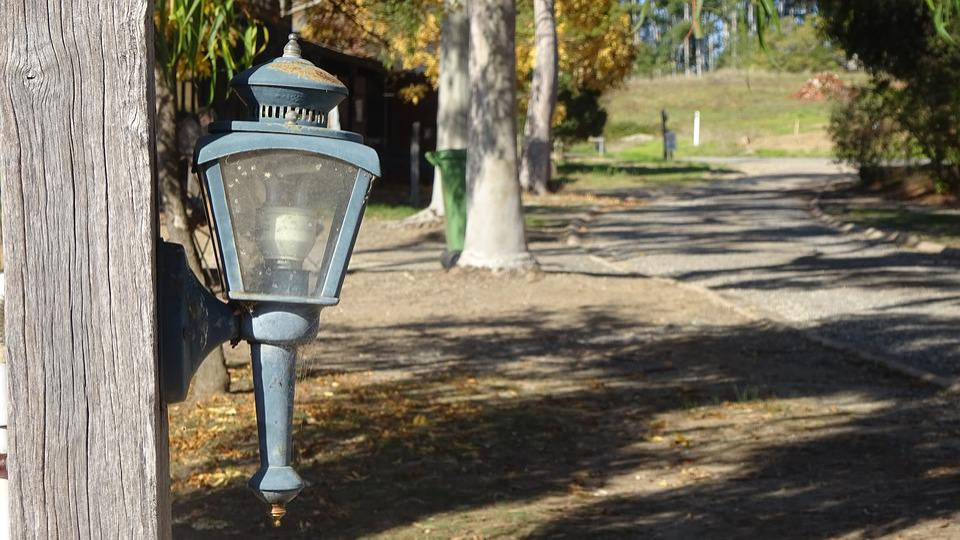 Old Light, Old Lamp, Australia, Electric