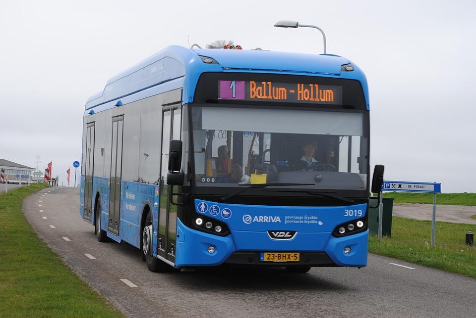 Bus, Ameland, Electric, Durable