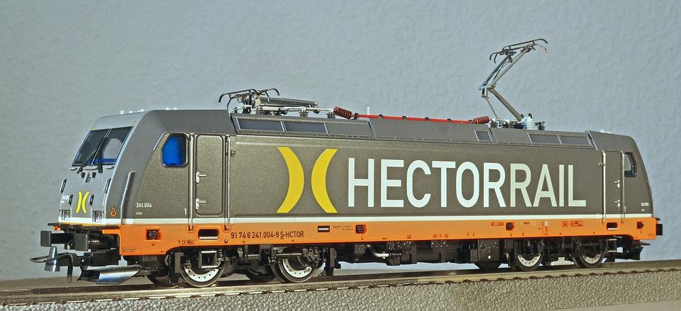 Electric Locomotive, Model, Scale H0, Private Railway