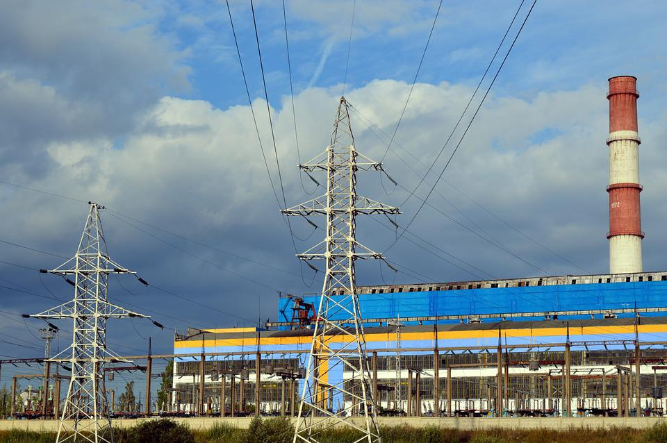 Electric Power, Energy, Industry, Plant, Factory