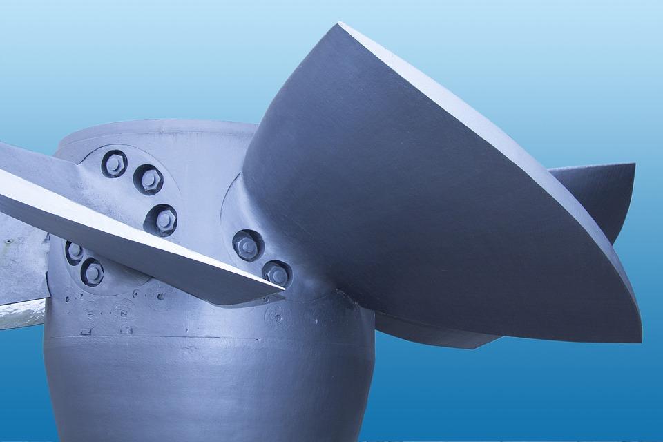 Metal, Steel, Water Power, Turbine, Electric, Current