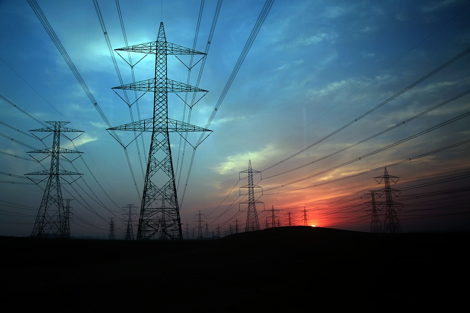 Electricity Pylon, Electrical Grid