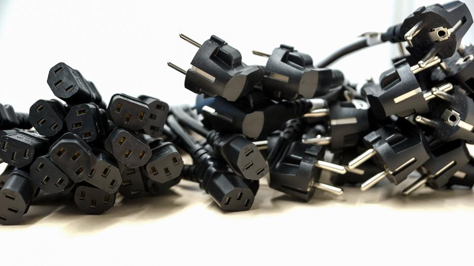 Plug, Round, Electricity, Power, Computer, Electric
