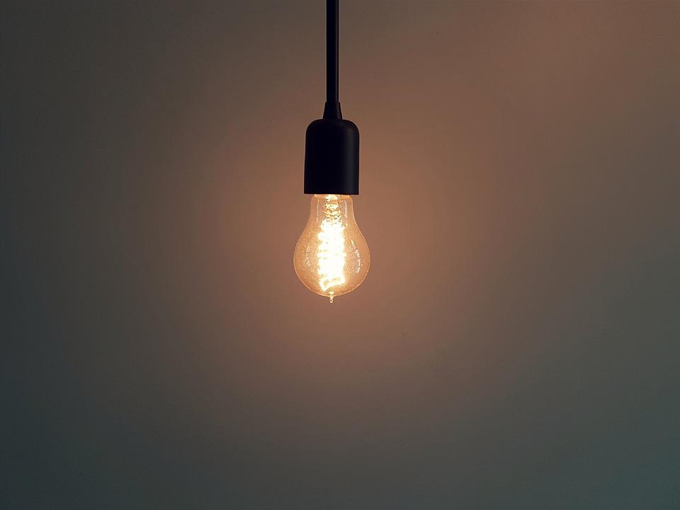 Bright, Bulb, Dark, Dusk, Electricity, Energy, Evening