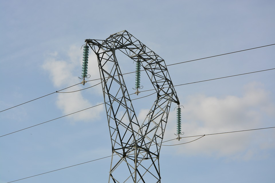 Electric Pole, Electricity, Electrical Voltage, Wire