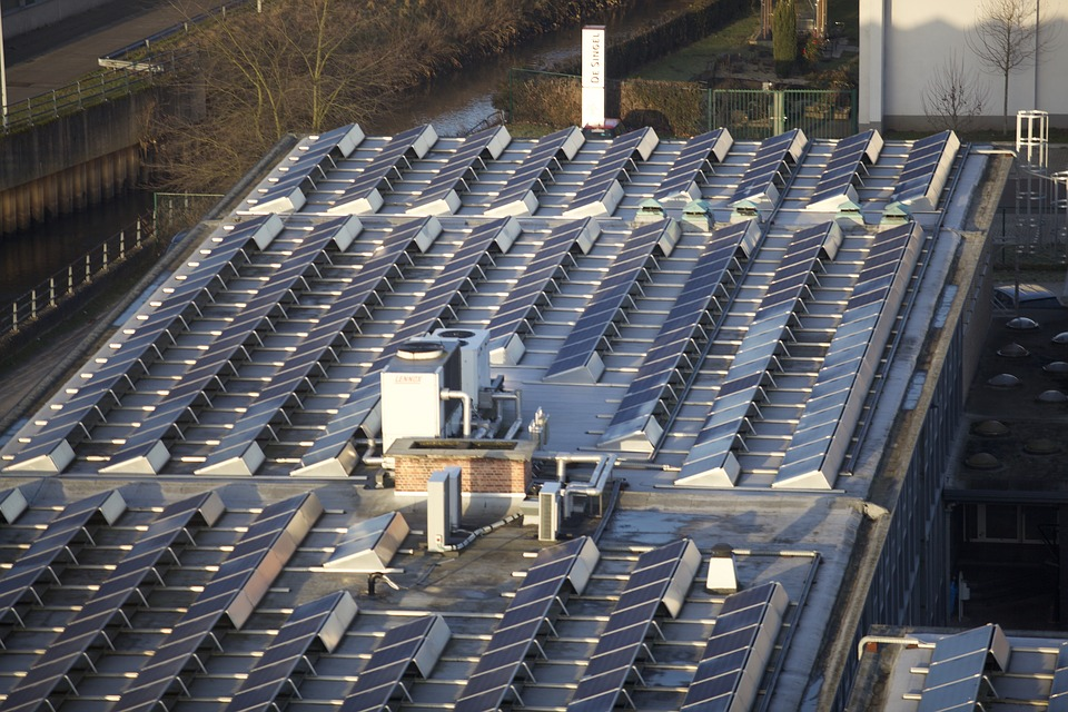 Solar Panels, Energy, Green Power, Electricity, Storage