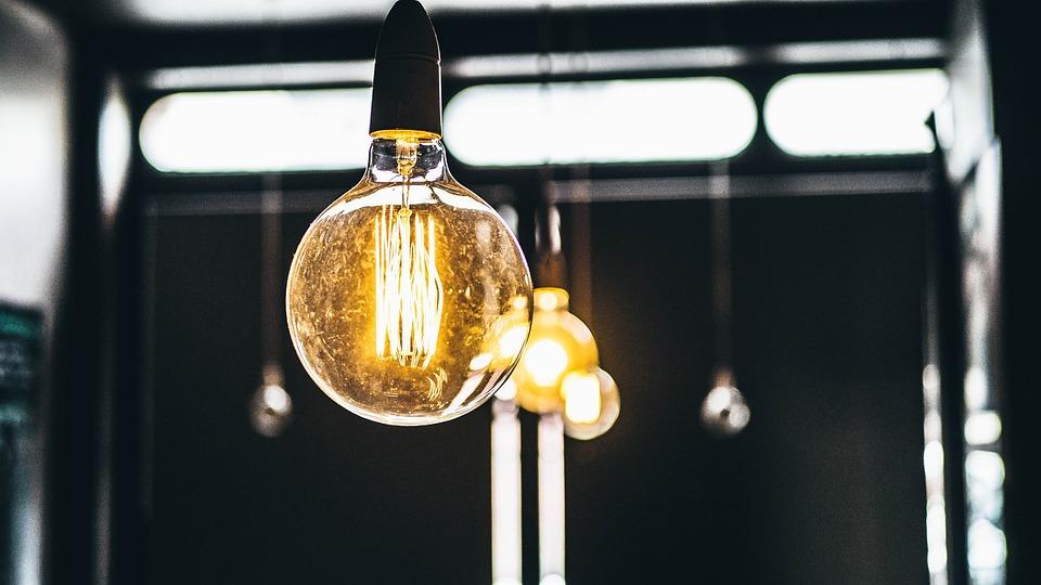 Electricity, Illuminated, Light Bulbs, Lights, Macro