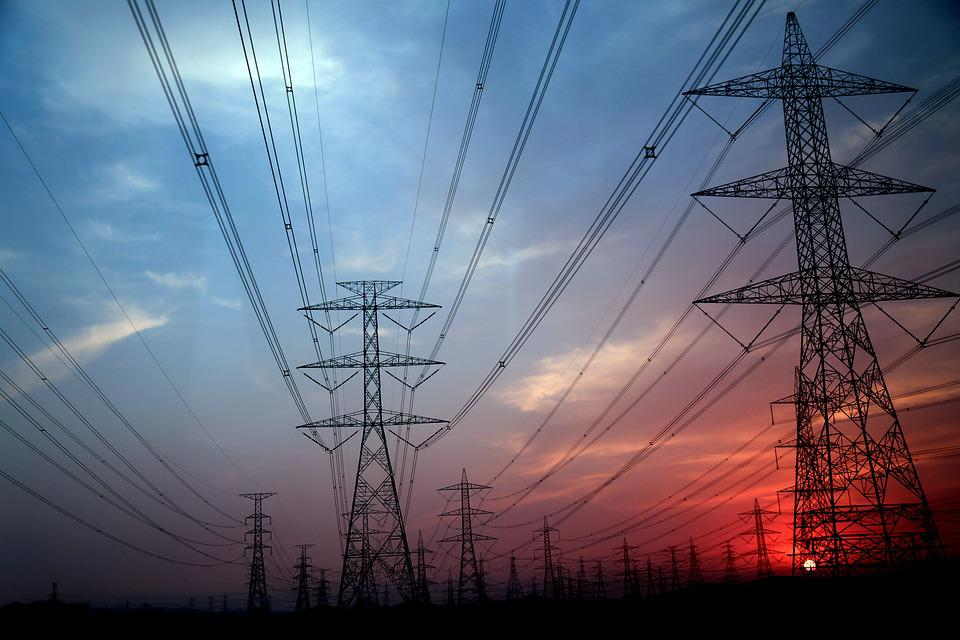 Electricity Pylon, Electrical Grid