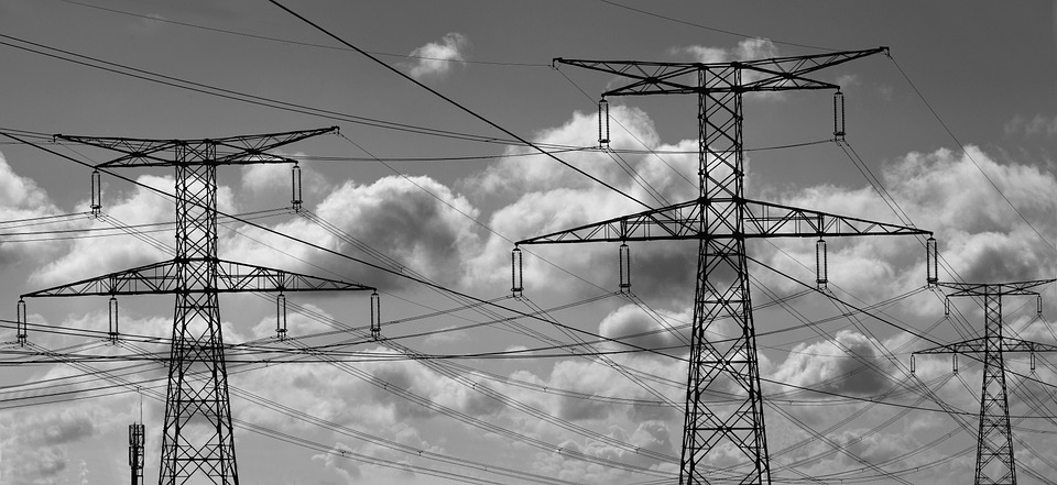 Electricity, Pylon, Son, Cables, Power Line