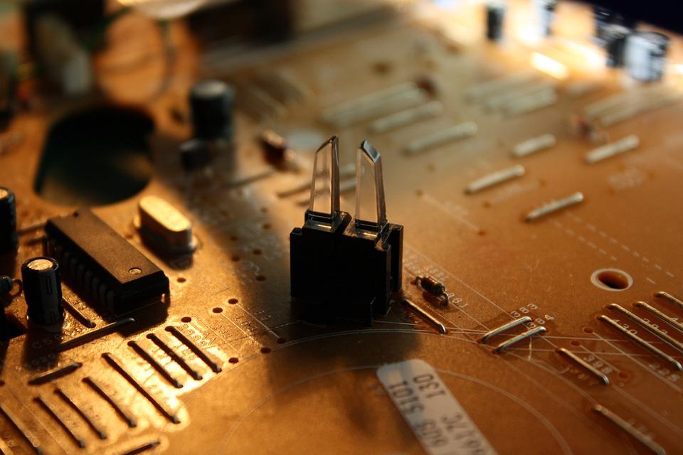 Circuit Board, Microprocessor, Capacitor, Electronics