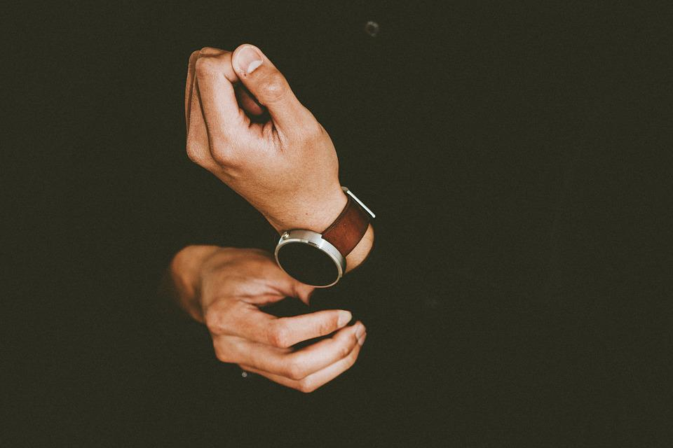 Hands, Person, Watch, Wristwatch, Male, Elegant