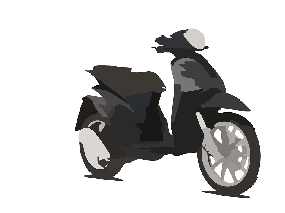 Motorcycle, Scooter, Sport, Race, Black, Elegant