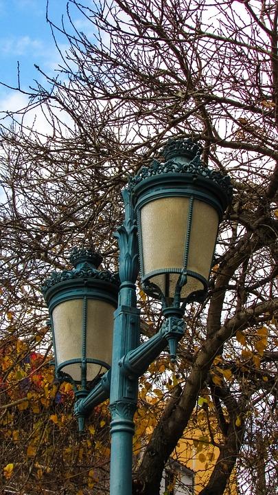 Lantern, Elegant, Light, Street Lamp