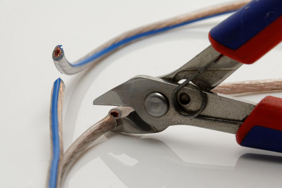 Pliers, Tool, Elektroniker, Side Cutter Crafts, Cable