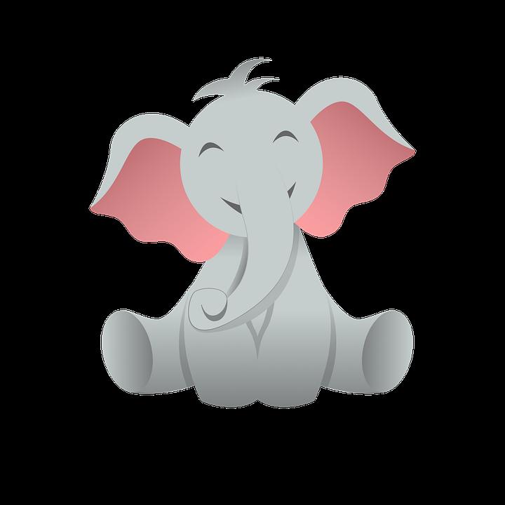 Elephant, Baby Elephant, Animal, Mammal, Wildlife, Wild
