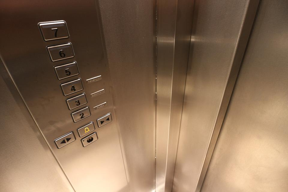 Up And Down, Lift, Control, Elevator, Keys, Operation