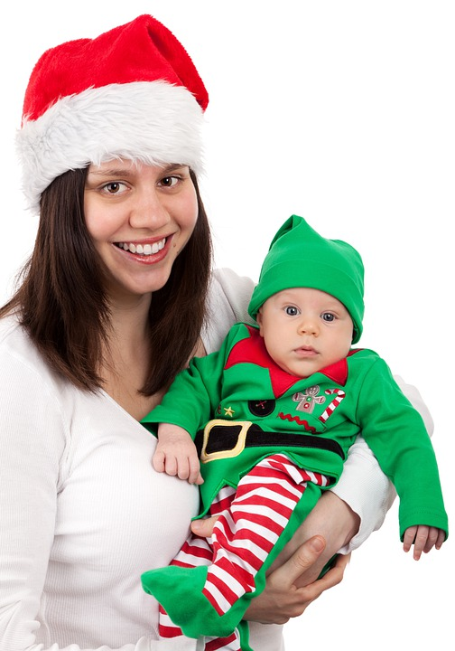 free photo elf child cute baby costume boy christmas hat max pixel