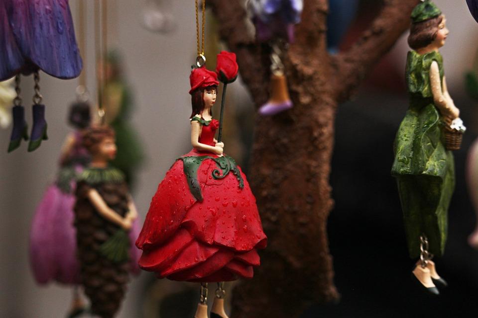 Elf, Rose Elf, Florencia, Flower Elf, Deco, Decoration