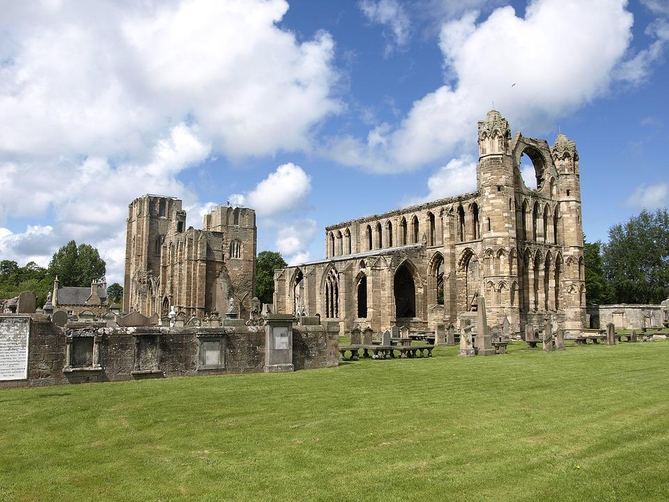 Scotland, Ruin, Elgin, Cathedral, Historically