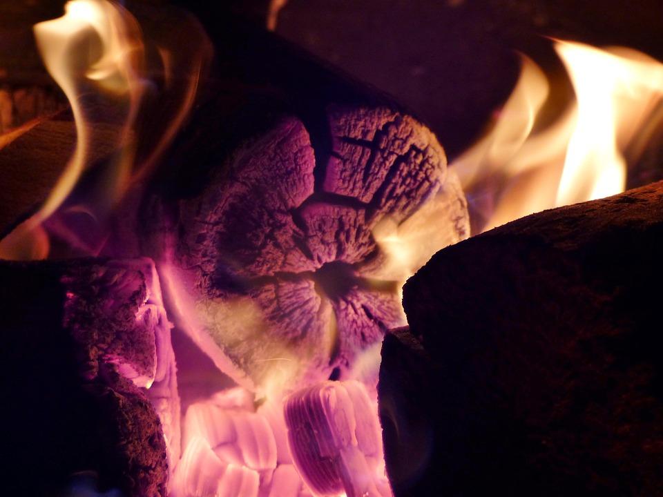 Campfire, Embers, Heat, Flame, Fire, Hot, Burn, Glow