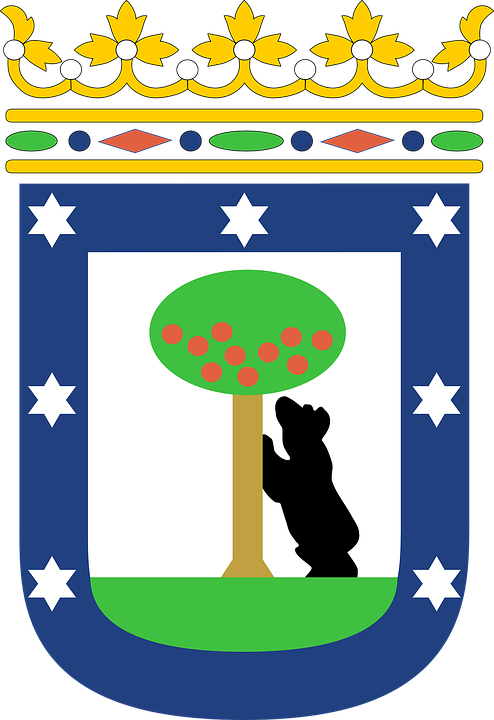 Coat Of Arms, Madrid, Symbol, Emblem, Spain
