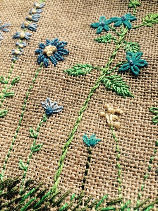 Free Photo Embroidery Knitting Wool Handmade Fabric Cloth Max Pixel