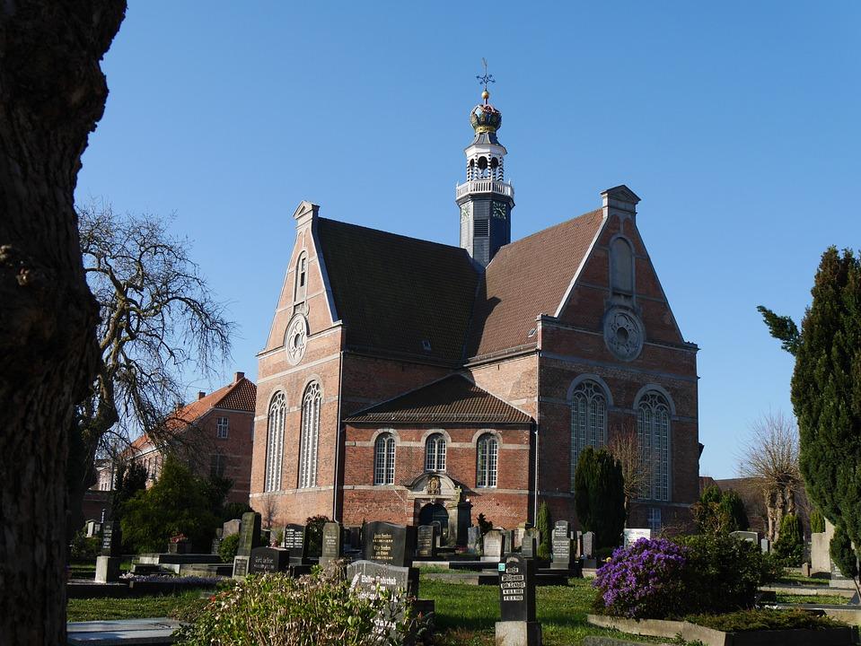 Cross Church, Emden, Lower Saxony, Germany