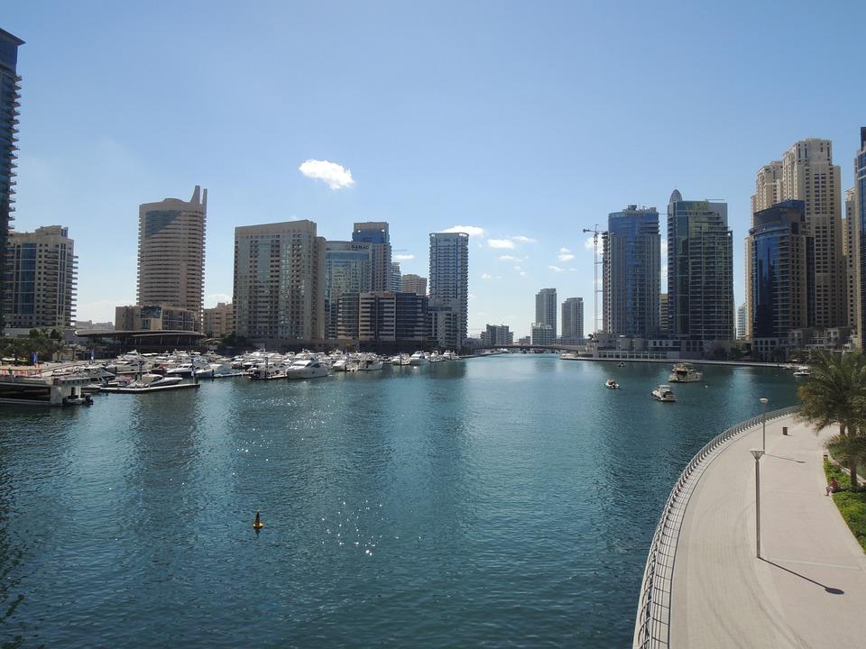 Dubai, Uae, Emirates, Emirate, Desert, Dubai Marina