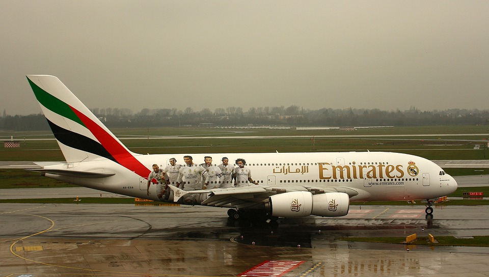 Emirates, A380, Aircraft, Aviation, Airbus, Airport