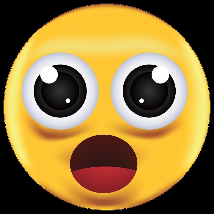 Shocked, Emoji, Emoticon, Icon, Emotion, Surprised