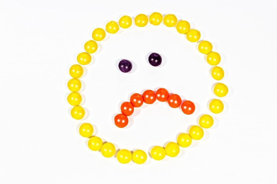 Smiley, Yellow, Sad, Sadness, Cry, Depressed, Emotion