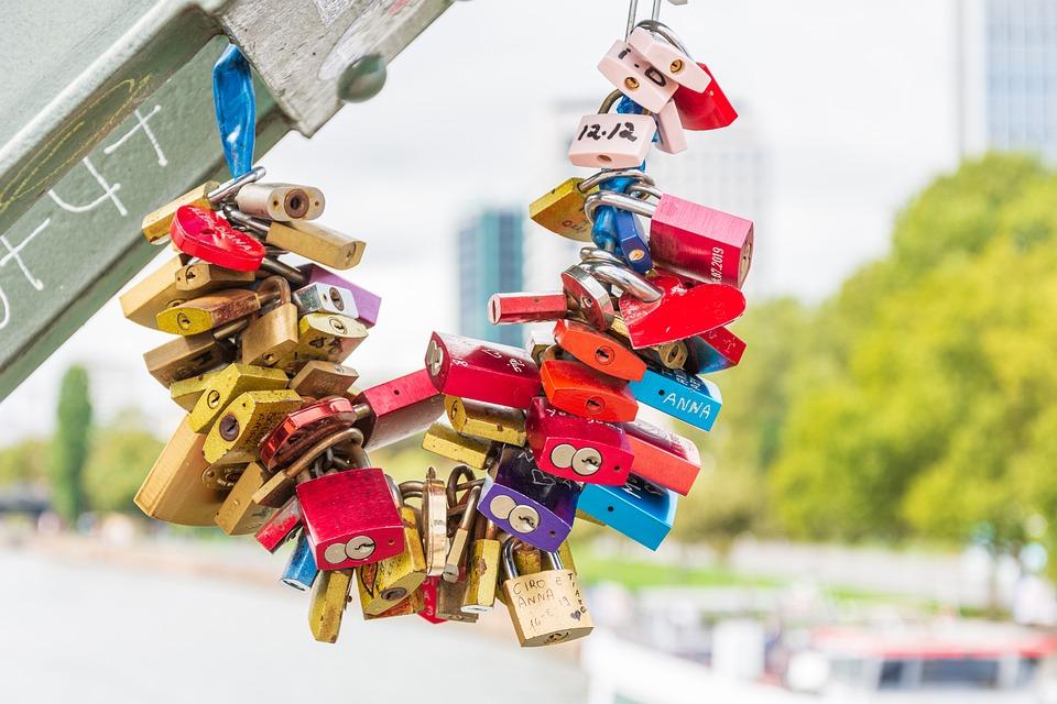 Love, Padlock, Padlocks, Security Lock, Red, Emotion