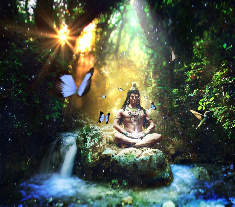 Shiva, Buddha, Well-being, Yoga, Relaxation, Emotion