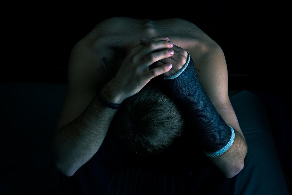 Broken Arm, Broken, Hurt, Emotional, Depression, Tough