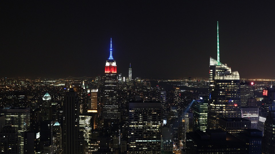 New York, City, Nyc, Empire State Building, Downtown