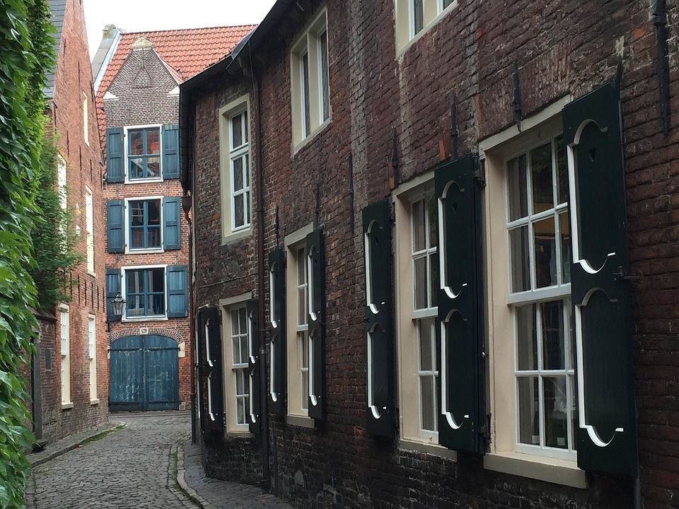 Empty, Old Town, Old Town Lane, Alley, Architecture