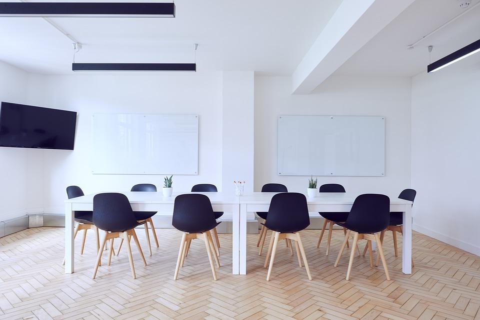 Chairs, Contemporary, Empty, Indoors, Interior Design