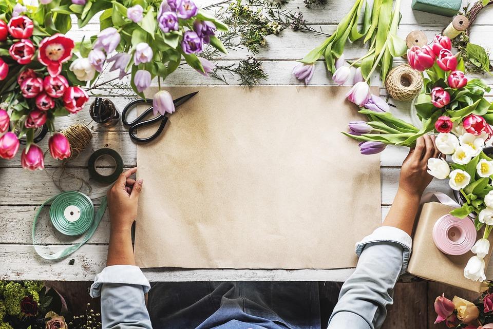 Copy, Craft, Florist, Floral, Paper, Hands, Empty