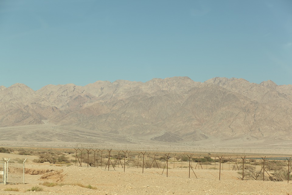 Nature, Sky, Israel, Middle, Desert, Dry, Empty