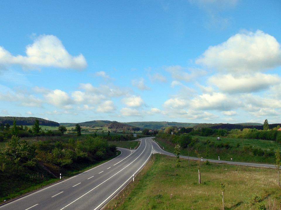 Road, Horizon, Traffic, Travel, Lonely, Empty