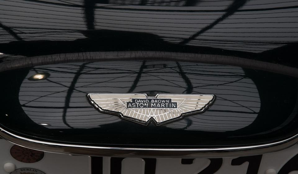 Company Logo, Automotive, Aston Martin, Enamelled