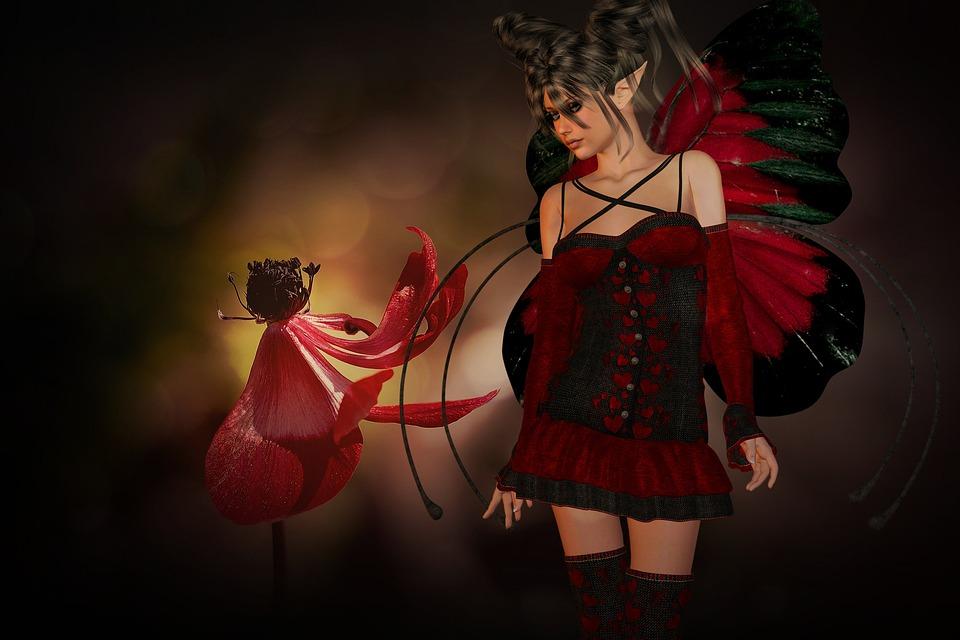 Flower, Eleven, Fantasy, Art, Enchanted Forest, Surreal