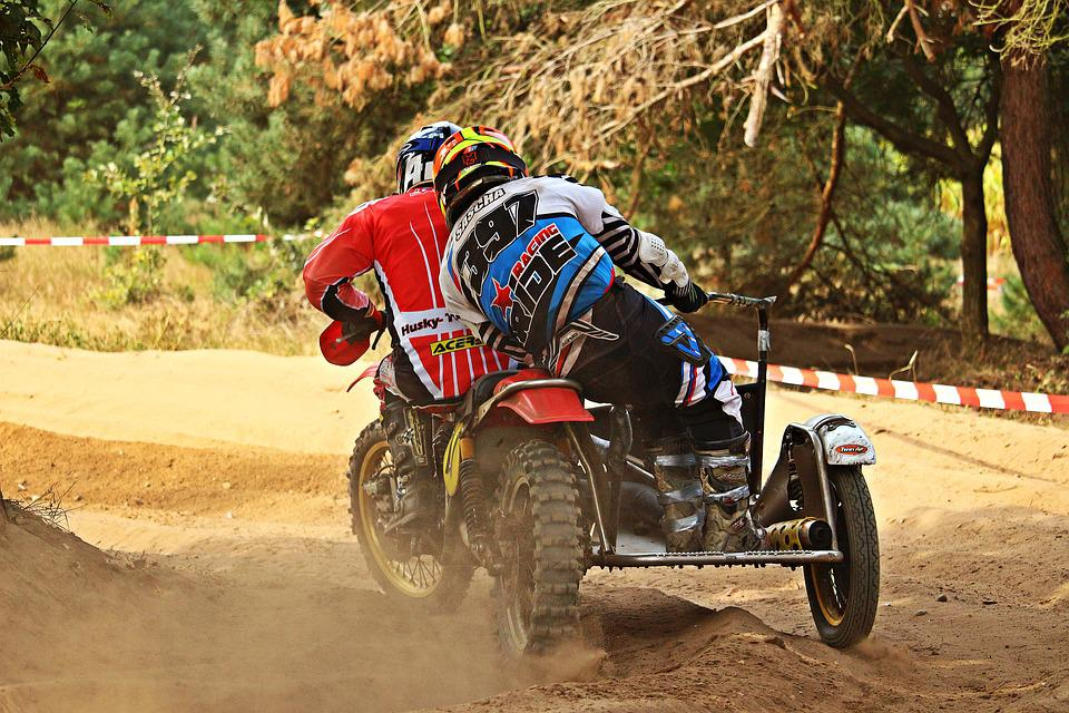 Sidecar, Cross, Enduro, Race, Motorcycle, Motorsport