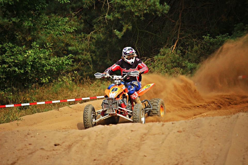 Cross, Quad, Race, Enduro, Sand, Motorcycle, Motocross