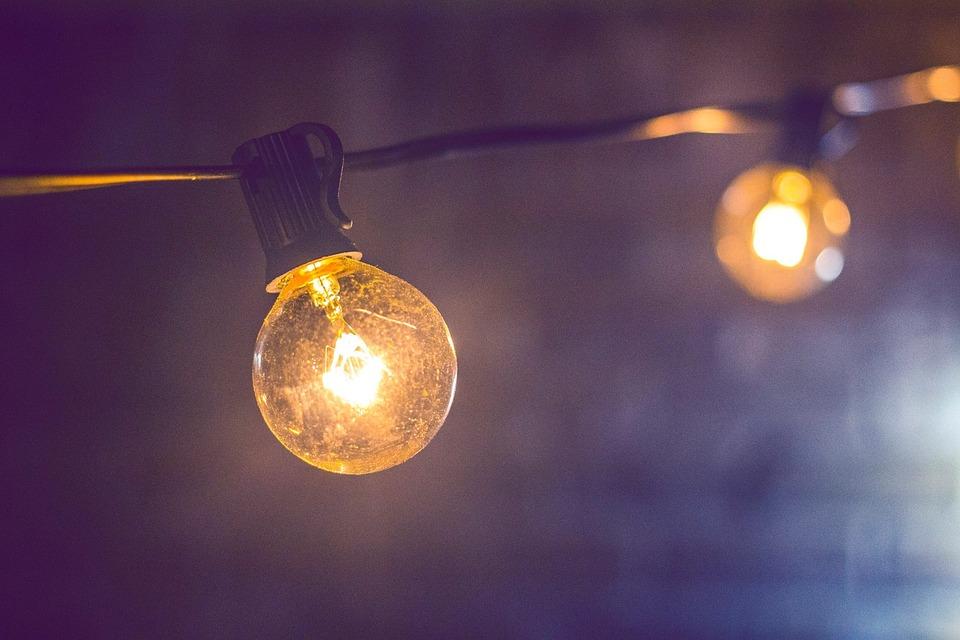 Blur, Bright, Bulb, Close-up, Dark, Electricity, Energy