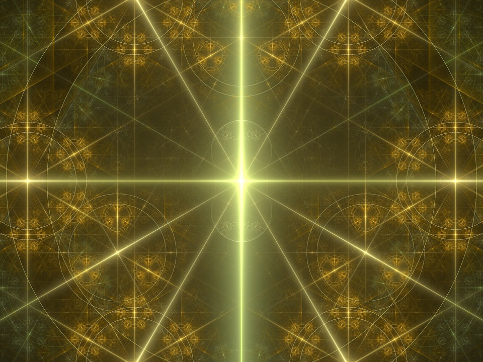 Background, Geometry, Light, Energy, Symmetry