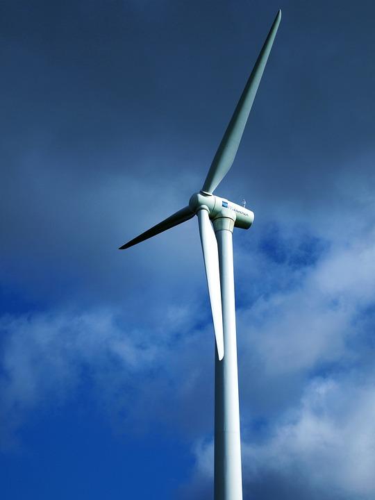 Pinwheel, Current, Wind Park, Wind Power, Energy