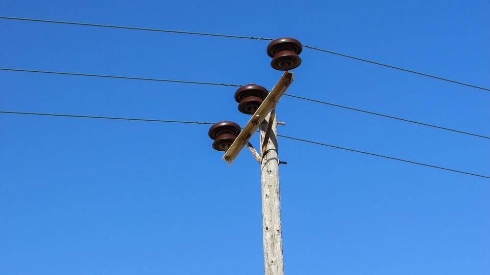 Electricity, Pole, Line, Power, Energy