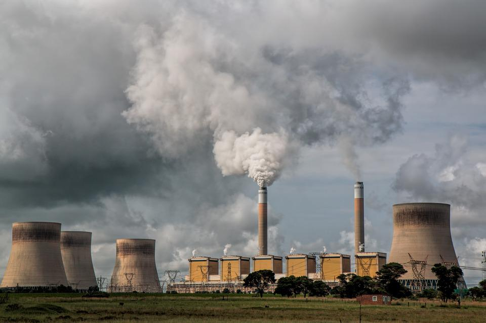 Power Station, Pollution, Energy, Electricity